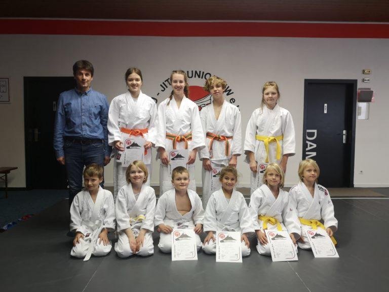 Judo Prüfung Frühjahr 2019