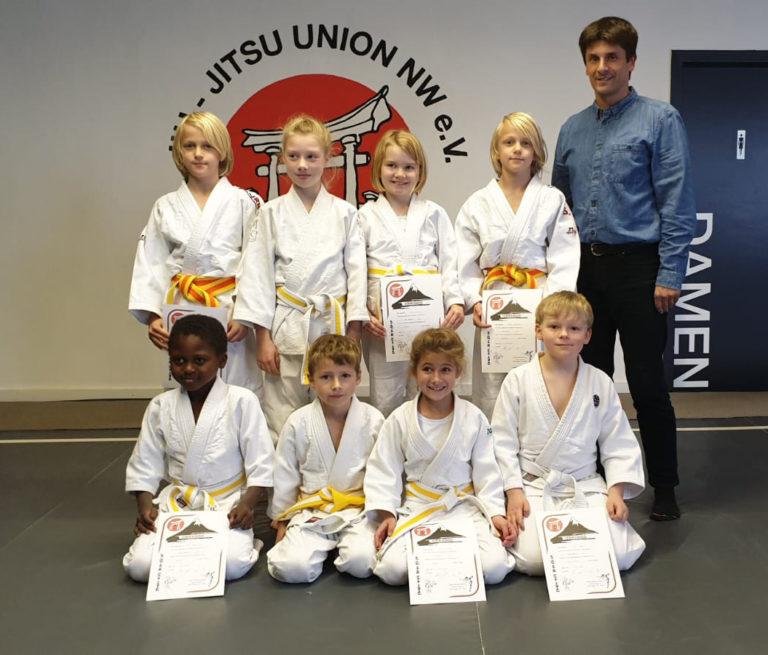 Prüfunge im Judo