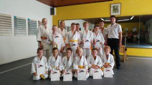 Judo-Prüfungen 07.2017