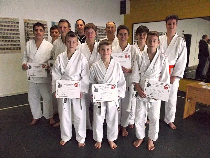 Prüfung im Judo